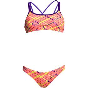 Funkita Criss Cross Two Piece Bikini Girls Best Cellar